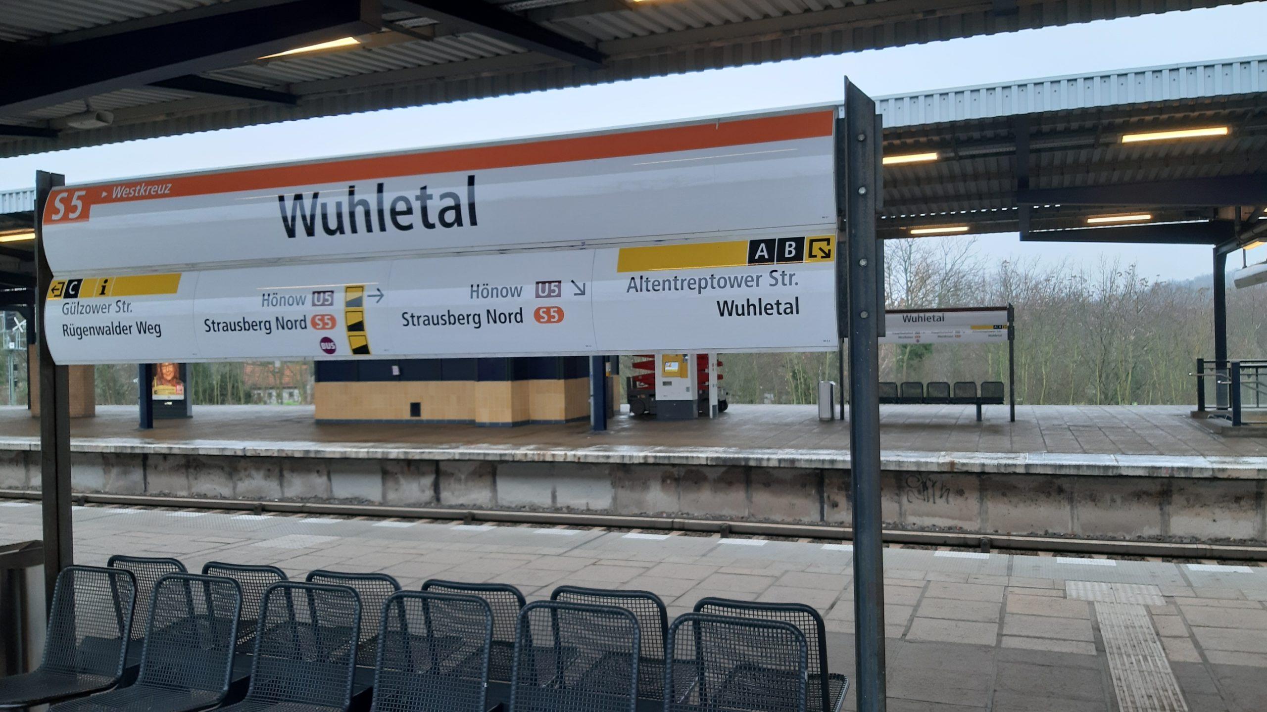 Bahnhof Wuhletal