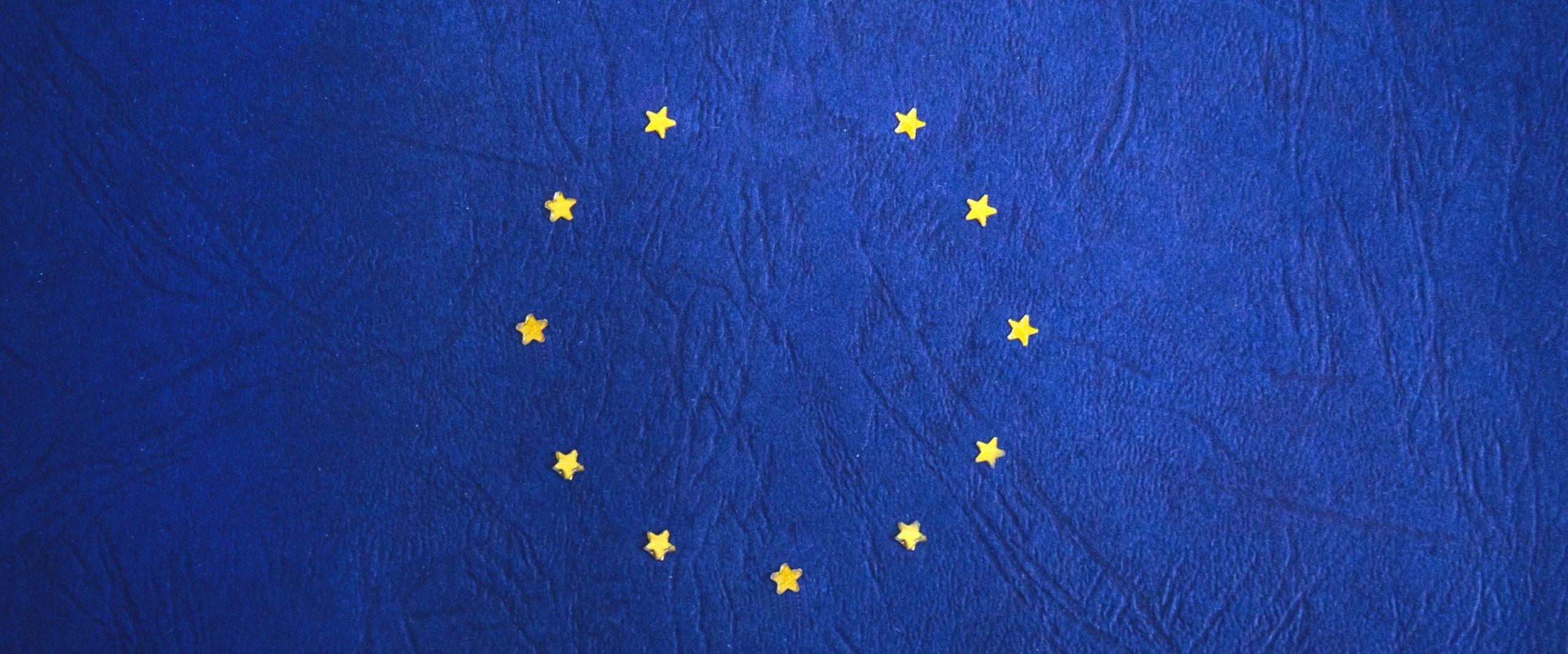 offene Europafahne